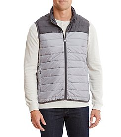 John Bartlett Consensus Men's Big & Tall Colorblock Puffer Vest