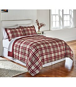 Living Quarters Mount Greylock Plaid Reversible Microfiber Down-Alternative Comforter