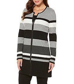 Rafaella Petites' Striped Duster Cardigan