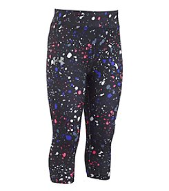 Under Armour® Girls' 2T-4T Splatter Capri Pants