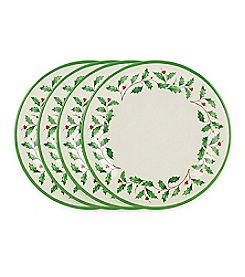 Lenox® Set of 4 Melamine Dinner Plates