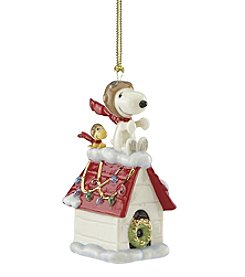 Lenox® Snoopy Flying Ornament