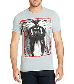 William Rast Men's Lion Graphic Tee