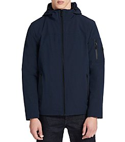 Calvin Klein Men's Hooded Softshell Jacket