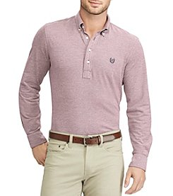 Chaps® Men's Long Sleeve Oxford Polo Shirt