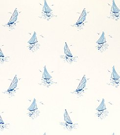Laura Ashley Ahoy Seaspray Wallpaper
