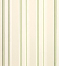 Laura Ashley Eaton Stripe Hedgerow Wallpaper