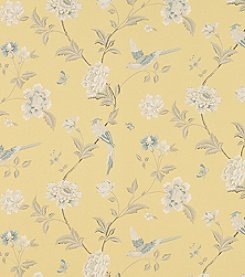 Laura Ashley Elveden Camomile Wallpaper
