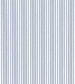 Laura Ashley Farnworth Stripe Chalk Blue Wallpaper
