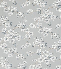 Laura Ashley Iona Slate Grey Wallpaper