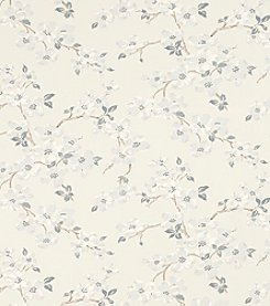 Laura Ashley Iona Silver Wallpaper