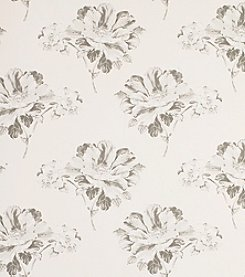Laura Ashley Hermione Off White Charcoal Wallpaper