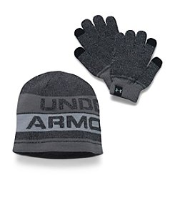 Under Armour® Boys' Beanie & Gloves set
