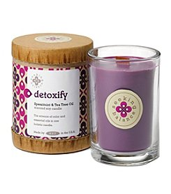 Root 6.5-oz. Spearmint & Tea Tree Oil Detoxify Candle