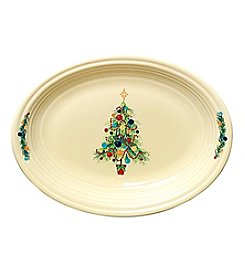 Fiesta® Tree Lights Oval Platter