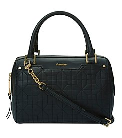 Calvin Klein Hera Quilted Pebble Small Satchel