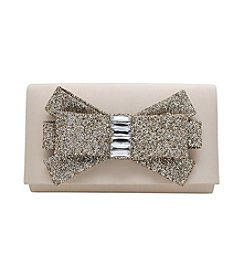 La Regale® Glitter Bow Clutch