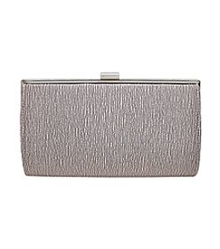 La Regale® Waverly Texture Jacquard Satin Frame Clutch
