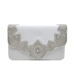 Gal® Satin Beaded Clutch