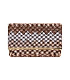 La Regale® Chevron Sequin Clutch