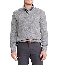 Chaps Men's Big & Tall Twist Mockneck Sweater