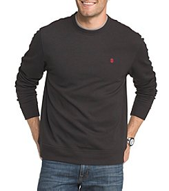 IZOD Men's Big & Tall  Long Sleeve Advantage Fleece Sweatshirt