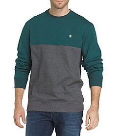 IZOD Men's Big & Tall Long Sleeve Advantage Fleece Sweater