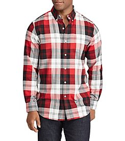 Chaps Men's Easy Care Woven Button Down