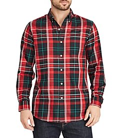 Chaps Men's Long Sleeve Woven Button Down
