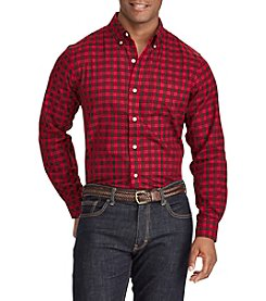 Chaps Men's Easycare Woven Button Down