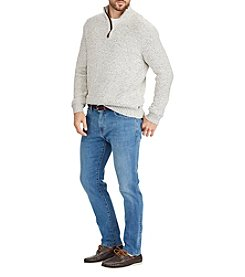 Chaps Men's Mock Neck Pullover Sweater