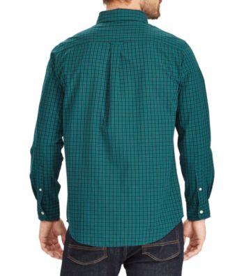 393ecf273 Chaps Men's Easy Care Woven Button Down Shirt