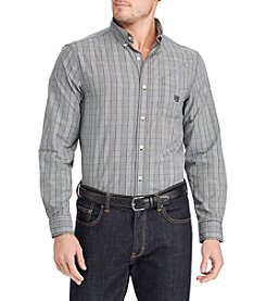 Chaps Men's Easy Care Woven Button Down Shirt