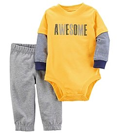 Carter's Baby Boys' 2 Piece Bodysuit And Pants Set