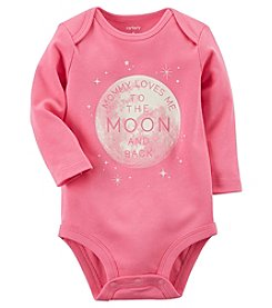 Carter's Baby Girls' Mommy Loves Me To The Moon And Back Bodysuit