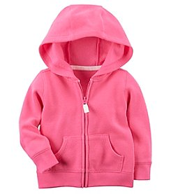 Carter's Baby Girls' Fleece Zip Front Hoodie