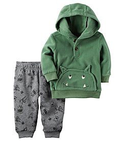Carter's Baby Boys' 2 Piece Monster Hoodie And Fleece Jogger Set