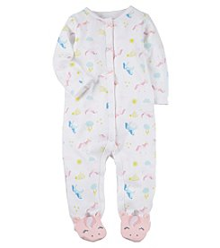Carter's Baby Girls' Unicorn Snap Up Cotton Sleep And Play