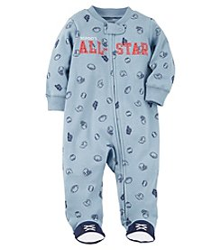 Carter's Baby Boys' Snap Up Mom All Star Cotton Sleep And Play