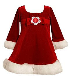 Bonnie Jean Girls' 2T-4T Sparkle Dress
