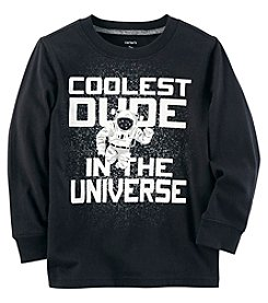 Carter's Baby Boys' Long Sleeve Coolest Dude In The Universe Tee
