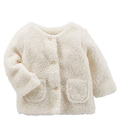 OshKosh B'Gosh Baby Girls' Faux Sherpa Jacket