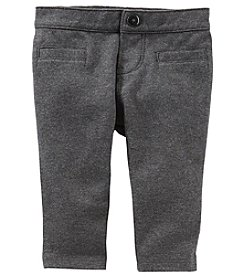 OshKosh B'Gosh Baby Girls' Welt Pocket Pull On Ponte Pants