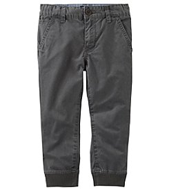 OshKosh B'Gosh Baby Boys' Slim Stretch Twill Joggers