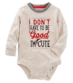 OshKosh B'Gosh Baby Boys' Don't Have To Be Good Bodysuit