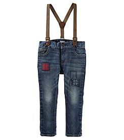 OshKosh B'Gosh Baby Boys' Slim Fit Suspender Jeans