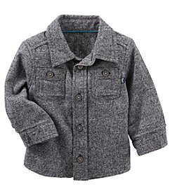 OshKosh B'Gosh Baby Boys' 2 Pocket Button Front Shirt