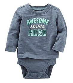 OshKosh B'Gosh Baby Boys' Double Decker Bodysuit