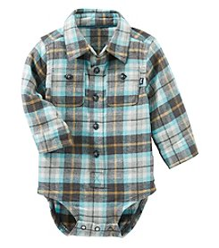 OshKosh B'Gosh Baby Boys' Plaid Bodysuit