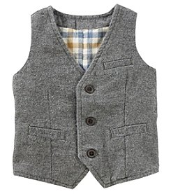 OshKosh B'Gosh Baby Boys' Welt Pocket Suit Vest
